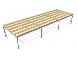 Was ist ein Zwischengeschoss und was sind die Vorteile von Plusm2 Lagerbühnen?