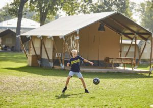 camping im herbst